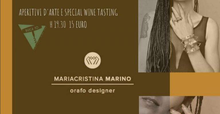 Aperitivi D'Arte Mariacristina Marino Buca10 Firenze