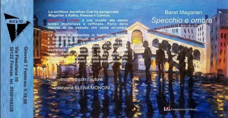 Baret Magarian Presentazione Libro Buca10 Firenze
