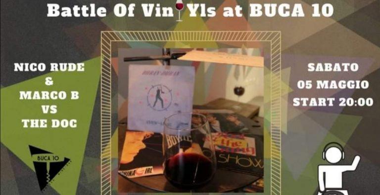 Battle Of Vynil Buca10 Firenze