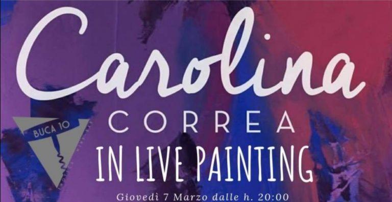 Carolina Correa Livepainting Buca10 Arte Firenze