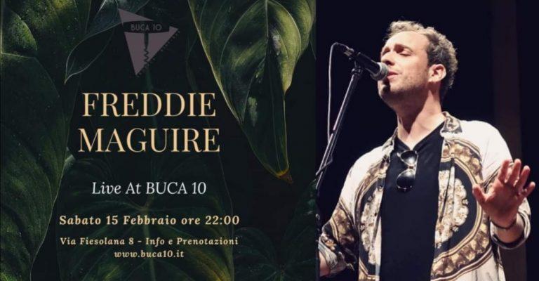 Freddie Maguire Livemusic Buca10 Firenze