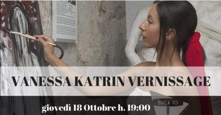 Vanessa Katrin Vernissage Buca10 Arte Firenze